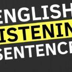 English Conversation Practice ||| Easy English Sentences For Listening
