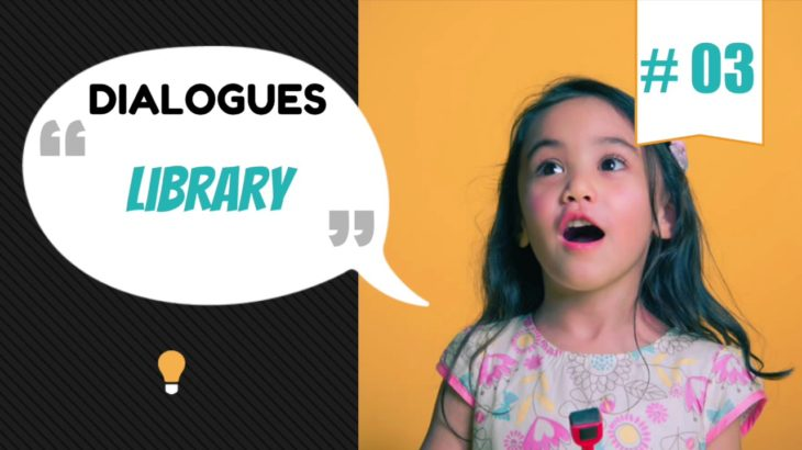 English Listening and Conversation ★ Lessons 03  ★ Library ★ Listening ★ English Subtitles