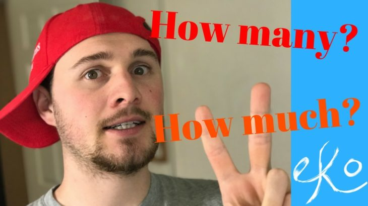 Learn English | HOW MANY and HOW MUCH
