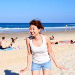 砂がキュッキュッする!このビーチやばい!(≧∇≦) // Sand that squeaks!!〔# 332〕