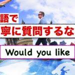 ⭐️英語で丁寧に質問をするなら『Would you like 』!意味と使い方が身につくレッスン動画