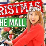 アメリカのモールでクリスマス!????????????✨ Christmas at the mall!〔#740〕