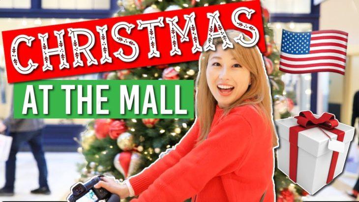 アメリカのモールでクリスマス!🎄🇺🇸✨ Christmas at the mall!〔#740〕
