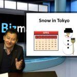 "Bizmates Trendy News 24 ""Snow in Tokyo"""