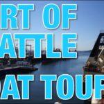 シアトルの港で洋上加工船見学!// Boat tour at the Port of Seattle!〔# 199〕