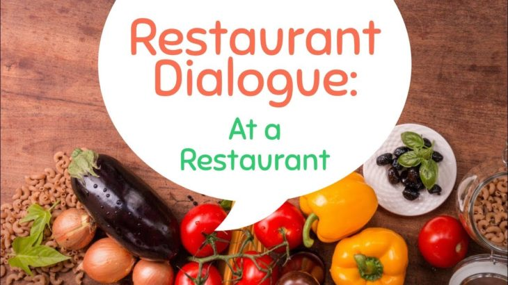 At a Restaurant – Restaurant Dialogue – Ordering at a Restaurant – English Speaking Practice