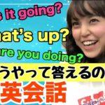 【プラスワン英語法】1分で英語学習~いろんな挨拶~(What's up?What's going on?…)