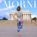 ワシントンD.C.で朝のジョギング!Jog with me in D.C!〔#586〕【🇺🇸横断の旅 15】