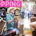 ショッピング英会話!店員さんが超フレンドリーなナッシュビルのウェスタンブーツ屋さん!〔#596〕【????????横断の旅 24】