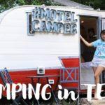 LIVE) テキサスでグランピング!Glamping in Austin, TX!〔#592〕【🇺🇸横断の旅 29】