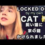 ミカエラの日常ブログ [FAIL edition] My cat locked me out of my own house.