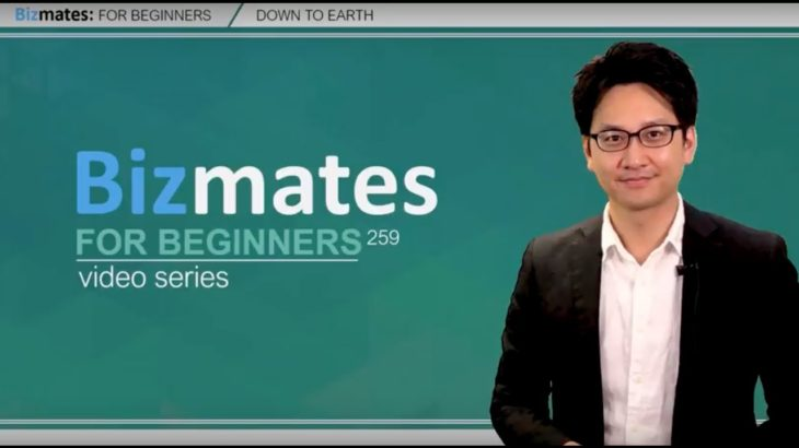 """Bizmates初級ビジネス英会話 Point 259 """"Down to earth"""""""
