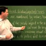 Advanced English Grammar for ESL – Reduced Relative Clauses