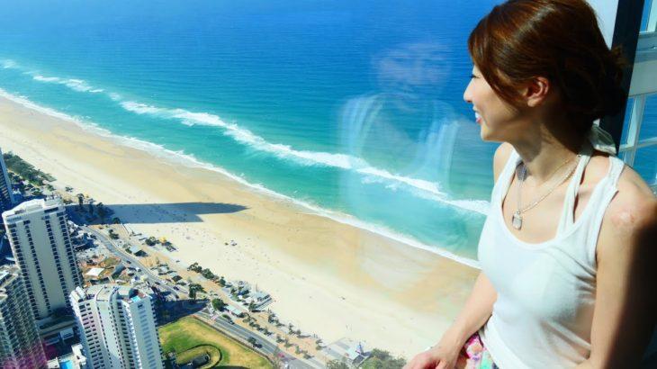 最高すぎるゴールドコーストの景色☆ from Q1展望台♪ // Awesome view of the Gold Coast from the Q1 Tower〔# 330〕