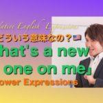 パワー ネイティブ 英語表現 29