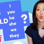 英語で「would〜?」質問のときの短縮発音☆