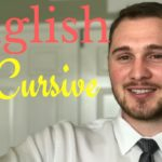 How to write Cursive letters in English