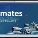 """Bizmates無料英語学習 Words & Phrases """"Christmas Special"""""""