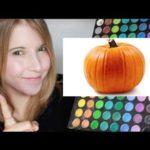 リアルすぎるのパンプキンメイク! How to be a pumpkin!