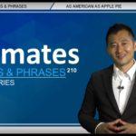 "Bizmates無料英語学習 Words & Phrases Tip 210 ""as American as apple pie"""