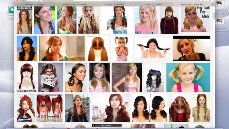 《美容師の方※必見》色んなヘアスタイル 美容師のための英会話