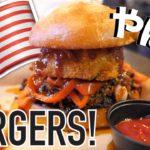 なんでも乗せちゃうアメリカのハンバーガー!Tipsy Cow Burger Bar????✨〔#516〕