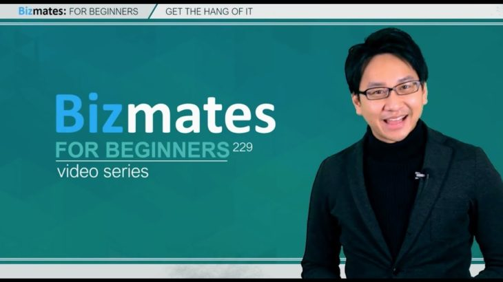 """Bizmates初級ビジネス英会話 Point 229 """"get the hang of it"""""""