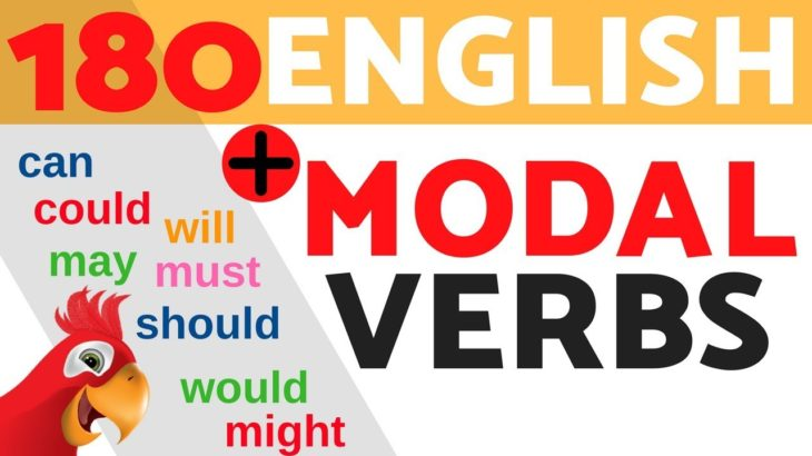 Learn ALL English MODAL VERBS & HELPING VERBS ||| Speak English Fluently ||| TO BE/CAN/ COULD…
