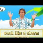 英会話ワンポイントレッスン 第21回 「work like a charm」 By ECC