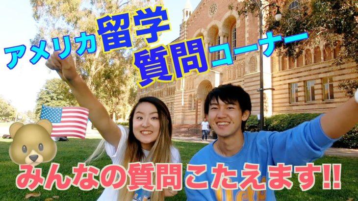 Q&A! UCLA生が留学について答えてみた!〔#556〕#ちか友留学生活