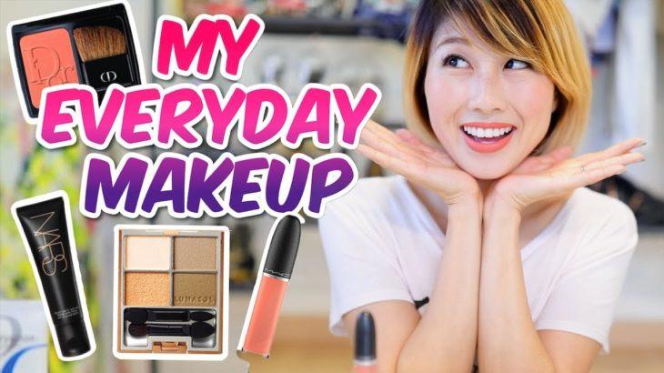英語で毎日メイク☆ My everyday make-up routine!〔#652〕