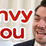 まだ「I envy you」と言っていますか?日本人がよく間違える英会話|IU-Connect英会話 #188