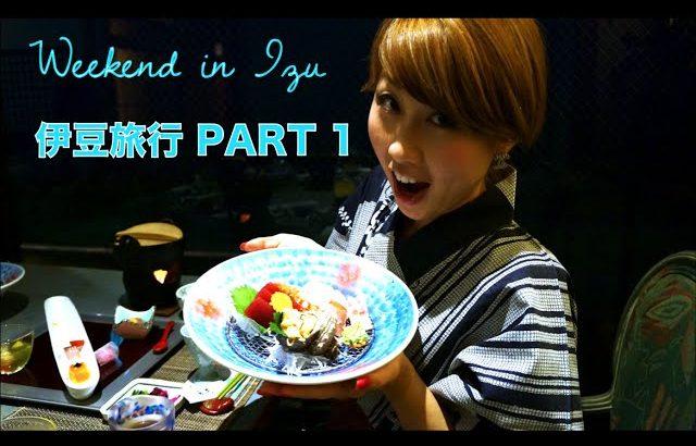 伊豆旅行 PART 1 // Trip to Izu〔# 121〕