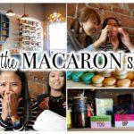 クリス&テーングとマカロンで乾杯♪ // Fun at the macaron shop!〔#372〕