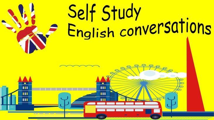 Self Study English conversations