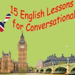 15 English Lessons for Conversational English