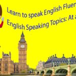 Learn to speak English Fluently Daily English Speaking Topics: At a Restaurant