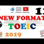 NEW FORMAT FULL TOEIC LISTENING PRACTICE 11 WITH SCRIPTS