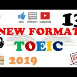 NEW FORMAT FULL TOEIC LISTENING PRACTICE 13 WITH SCRIPTS