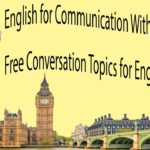 English for Communication With Subtitle  Free Conversation Topics for English Practice