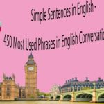 Simple Sentences in English – 450 Most Used Phrases in English Conversation with Subtitles