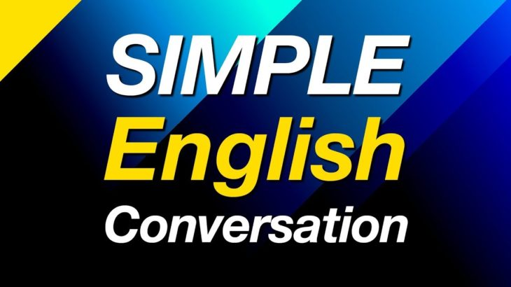 Simple English Conversation Practice- Learn Basic English Speaking #StudyWithMe