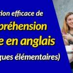 Formation efficace de compréhension orale en anglais (dialogues élémentaires)