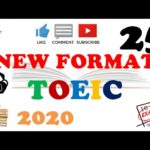 NEW FORMAT FULL TOEIC LISTENING PRACTICE 25 WITH SCRIPTS