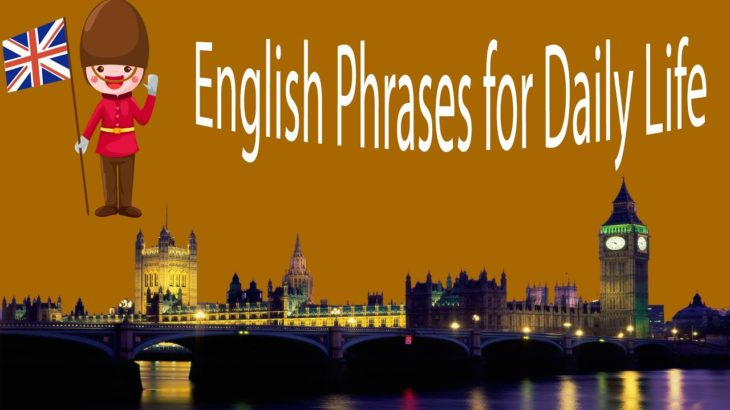 English Phrases for Daily Life