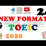 NEW FORMAT FULL TOEIC LISTENING PRACTICE 24 WITH SCRIPTS