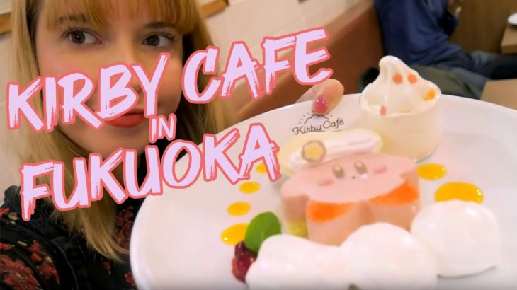 I took my boyfriend to the Kirby Cafe!