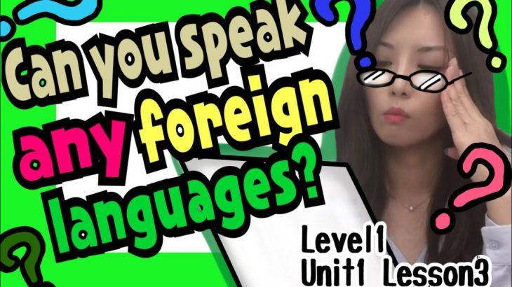 英語でインターンの面接 Level1/Unit1/Lesson3[#55]