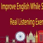 Improve English While Sleeping – Real Listening Exercise
