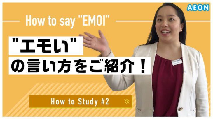 自宅で出来る英語学習 #2 エモいって英語で何て言う? Franceska先生 英会話イーオン